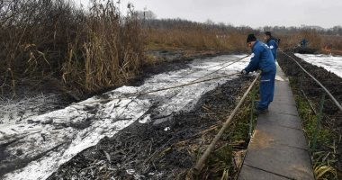 Danube Rescue operation removes 400 tonnes of waste contaminated with oil near Budapest