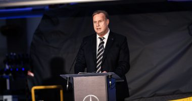 Christian Wolff, CEO of Mercedes-Benz Manufacturing Hungary