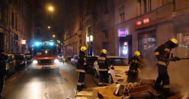 Tűzoltóság Tűz Fire Firemen Lomtalanítás