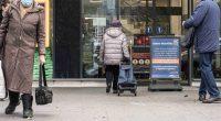 elderly shopper