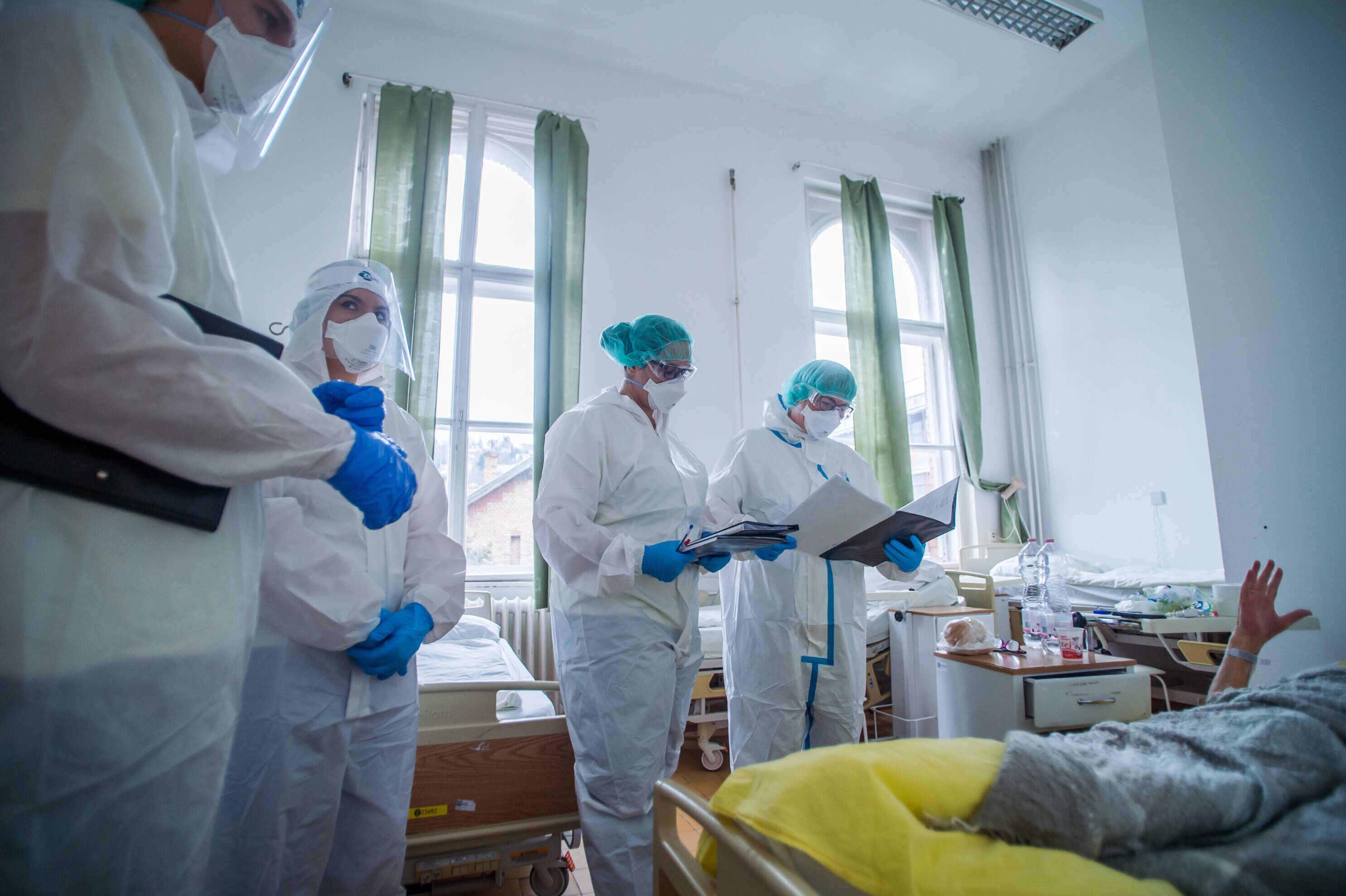 hungary coronavirus hospital