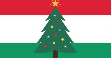 hungary flag christmas