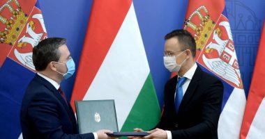 hungary serbia ties