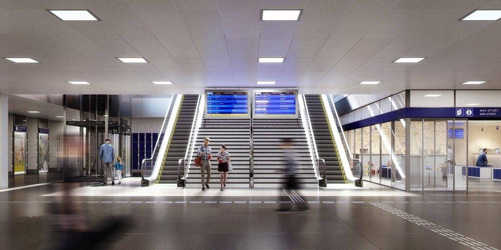 keleti station new