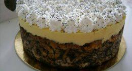 mákos guba cake