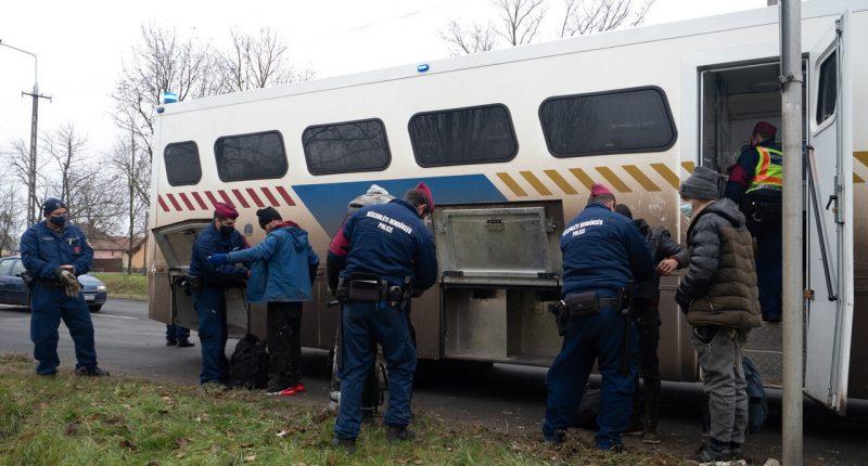 migration-hungary police