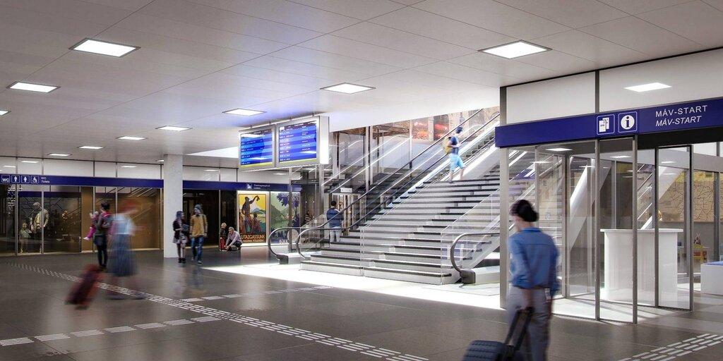 new keleti station