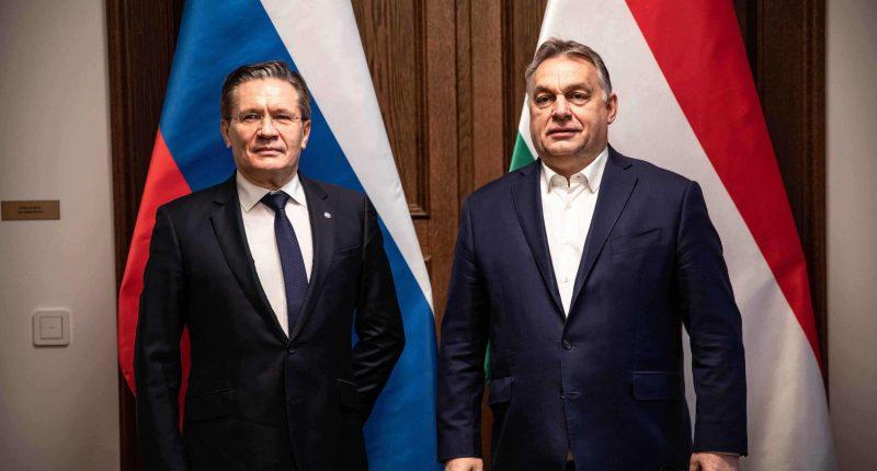 orbán with rosatom head