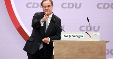 Armin Laschet is CDU's new president