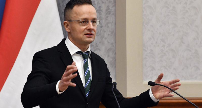 Foreign-minister-Szijjártó-Hungary