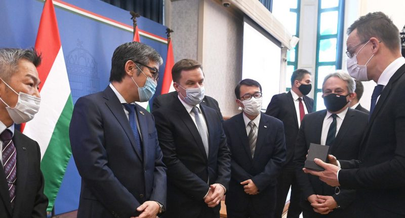 Huge Japanese automotive investment with Hungarian government support worth 5 million euros