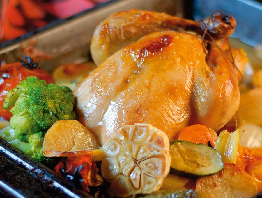 Részeges csirke (Drunk chicken)