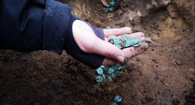 Thousands of medieval coins unearthed in Hungary 2021