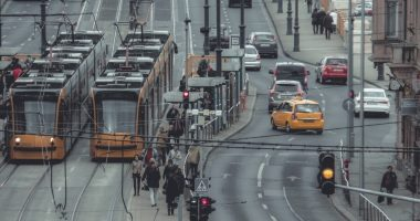 budapest bkv bkk tram transport