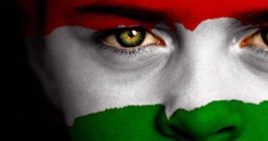 hungarian flag face