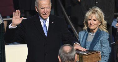 Biden on inauguration