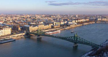 winter szabadság_bridge_liberty_ferenc_józsef_budapest