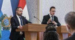 san-marino-Hungary-foreign-minister