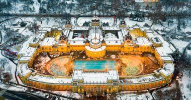 winter in széchenyi