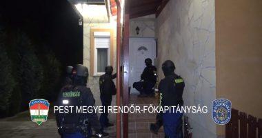 Arrest in Progress Police Rendőrség Letartóztatás Detention