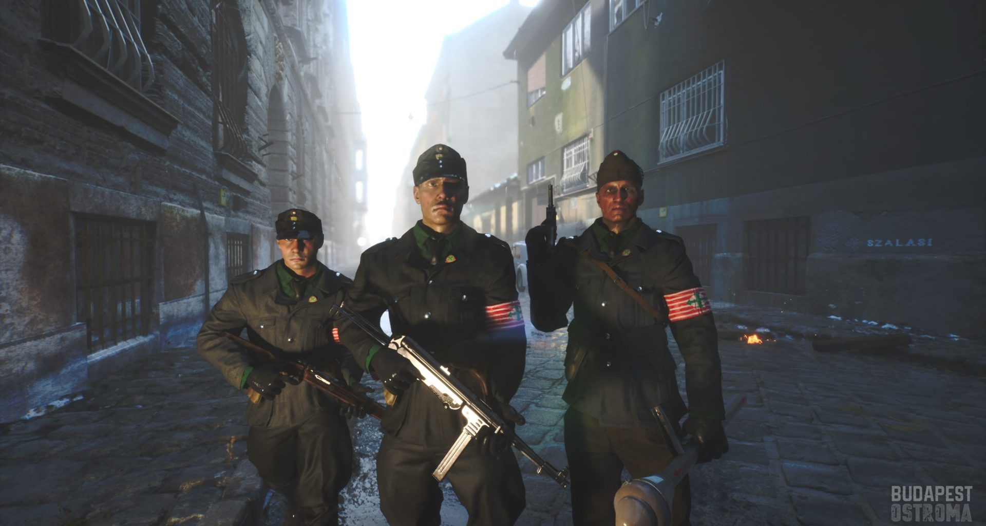 Budapest Ostroma Siege of Budapest WWII Videogame
