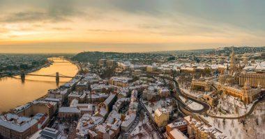 Budapest winter