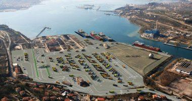 Hungarian Seaport Magyar Kikötő Plan
