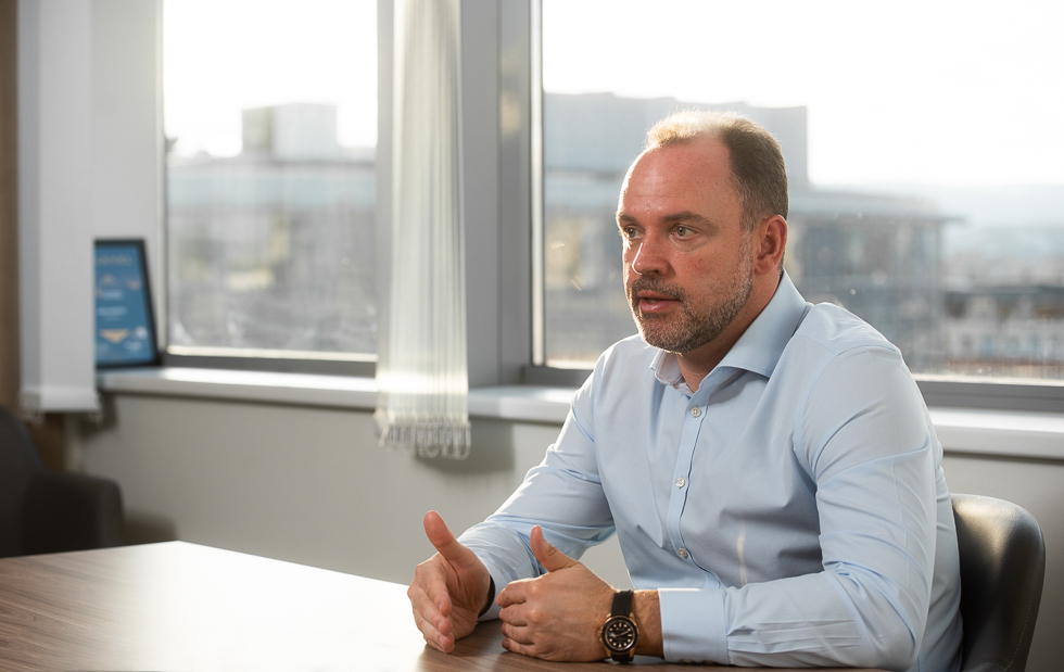 Valter Kalaus the managing director of the consulting firm VLK Cresa