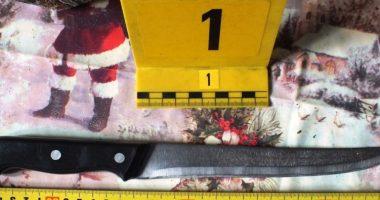 Knife Evidence Kitchen Konyhakés Bizonyíték