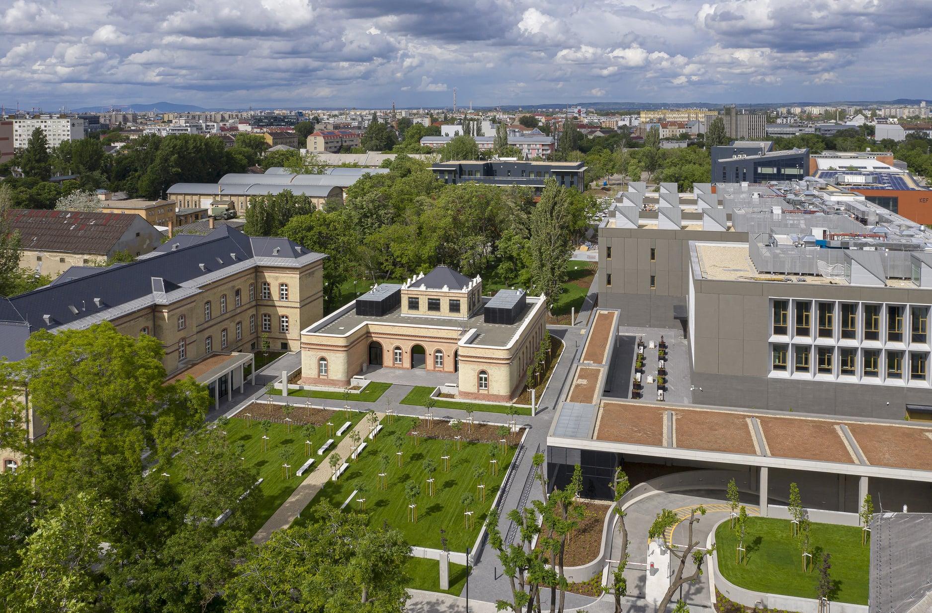 Liget Budapest architecture museum