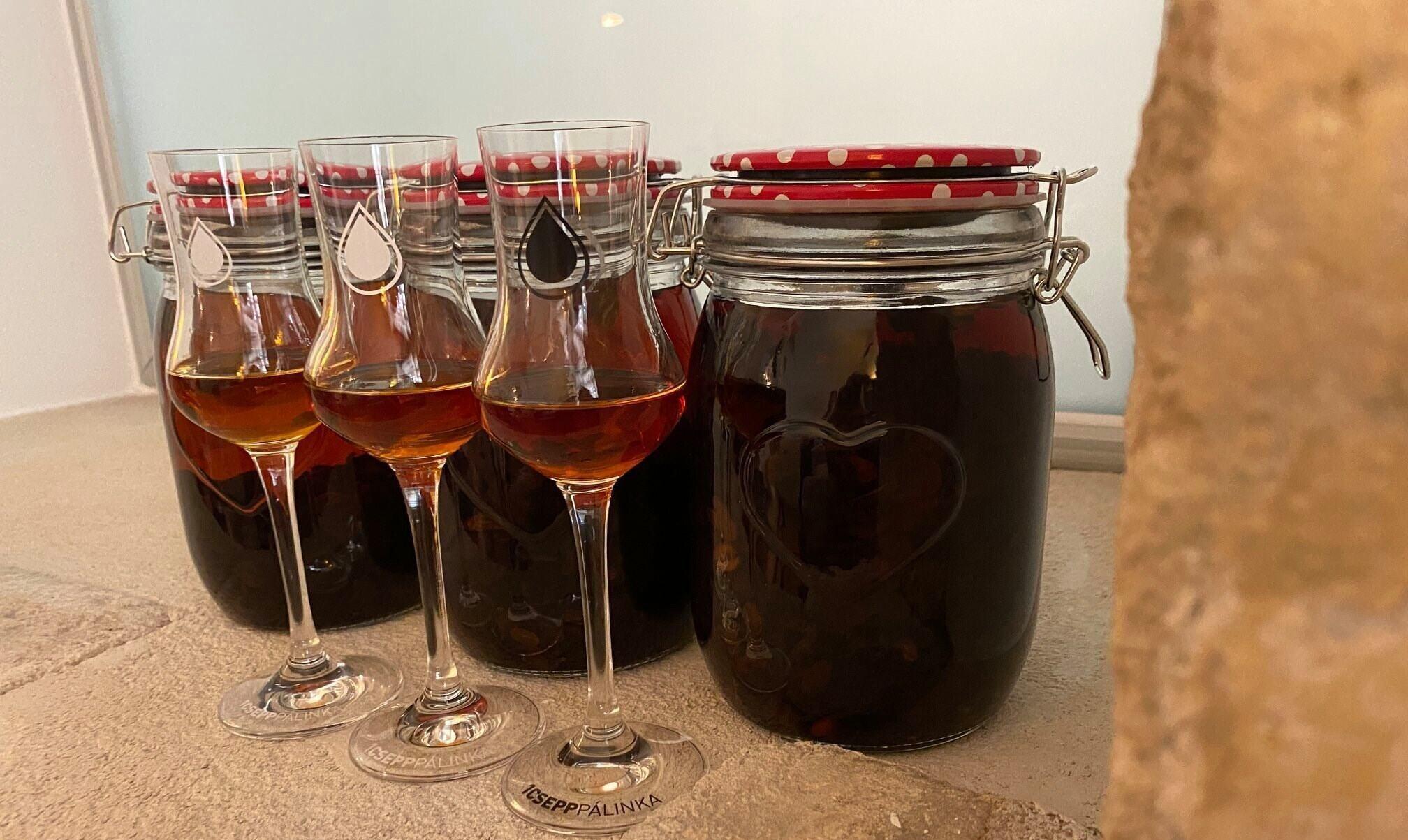 Pálinka Üveg Glass 1Csepp Distillery
