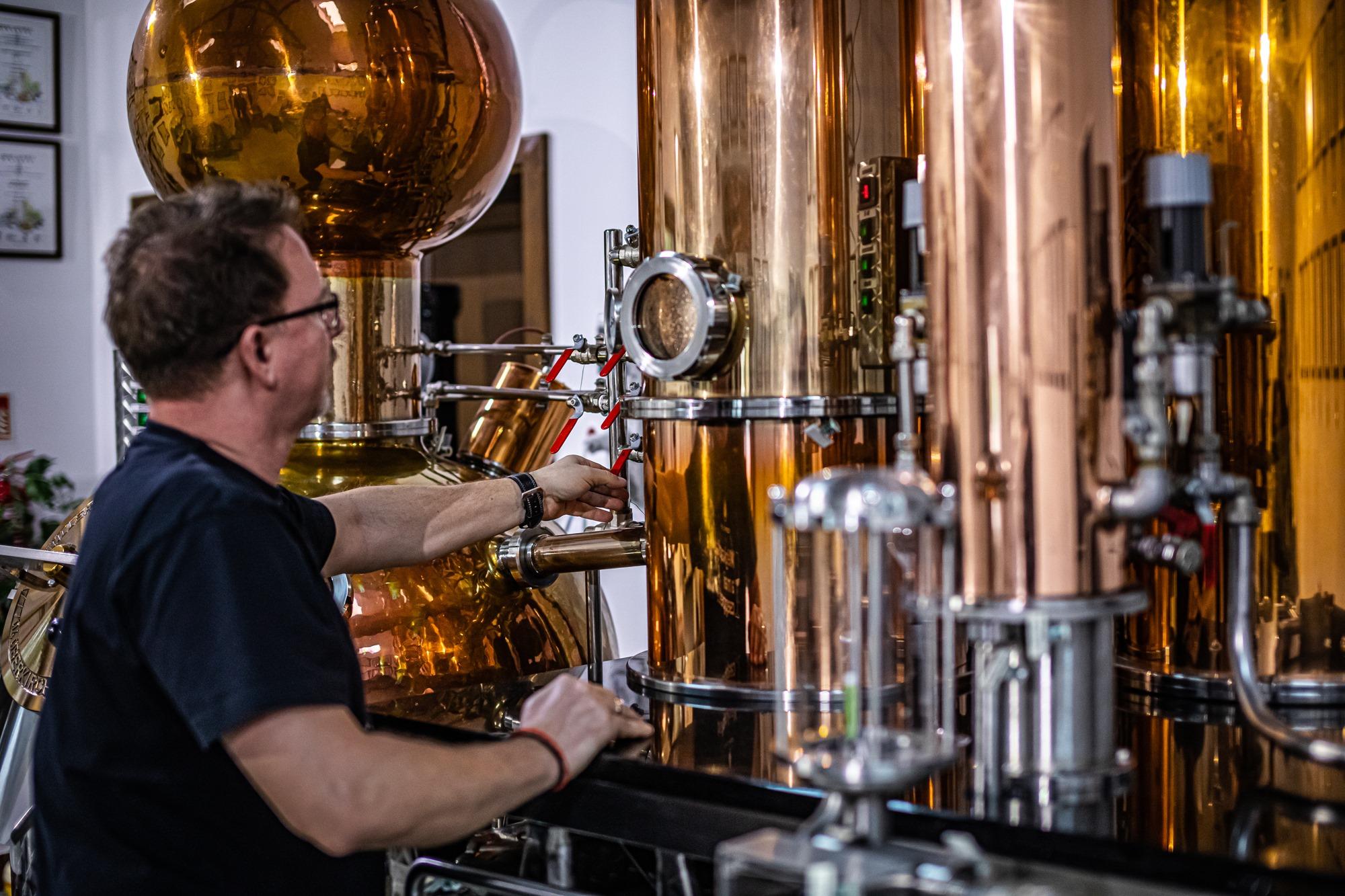 Pálinka Üveg Glass 1Csepp Distillery Lepárló
