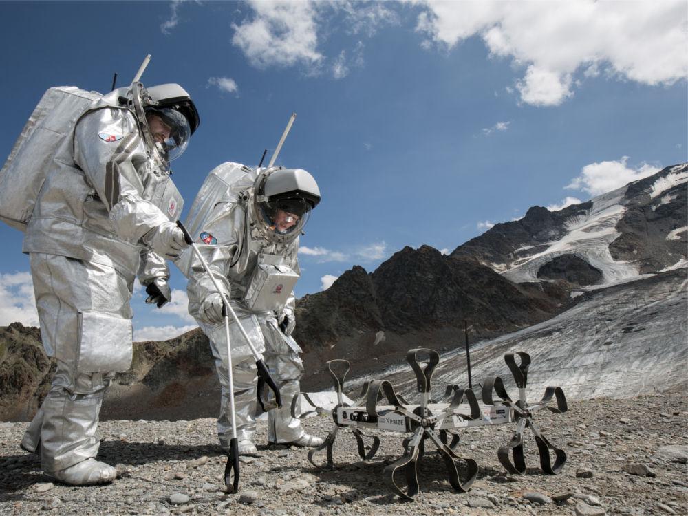 Puli Space Technologies Moon Rover Holdjáró