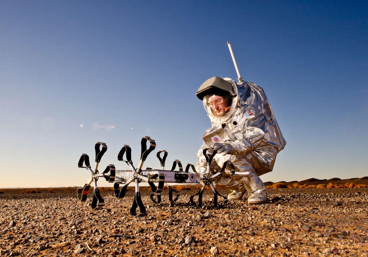 Puli Space Technologies Moon Rover Holdjáró Scenic Shot