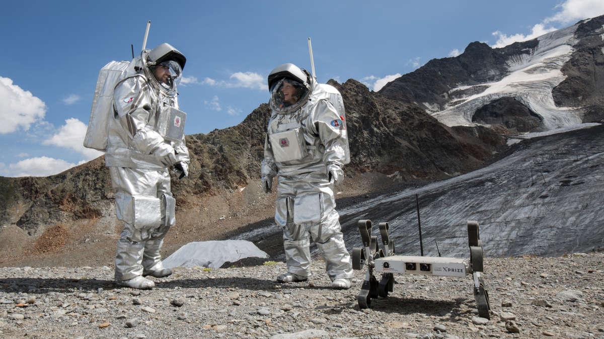 Puli Space Technologies Moon Rover Holdjáró Test Teszt