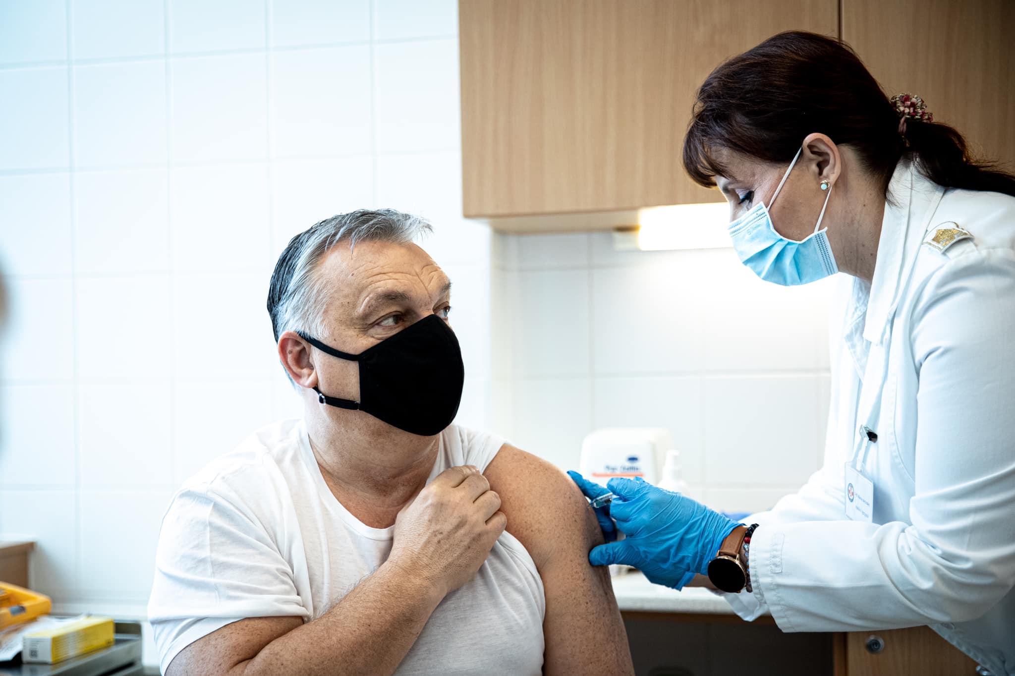 Viktor Orbán vaccine Chinese Sinopharm