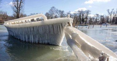 balaton in ice