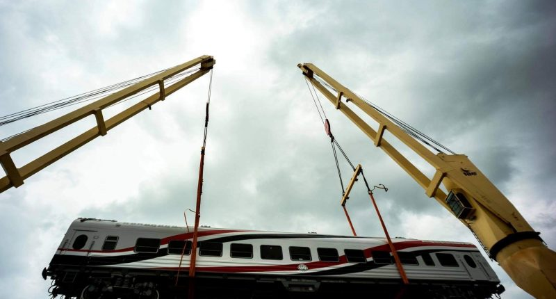 Cairo, Egypt. Hungary delivered the first railway carriages to Egypt. Photo: FM