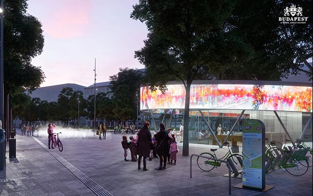 Blaha Lujza Tér Square Development Fejlesztés Terv Design 2