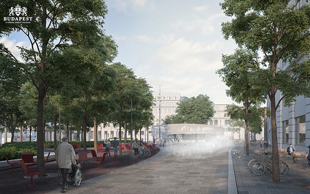 Blaha Lujza Tér Square Development Fejlesztés Terv Design 3