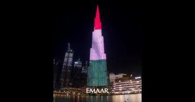 Burj Khalifa hungary flag