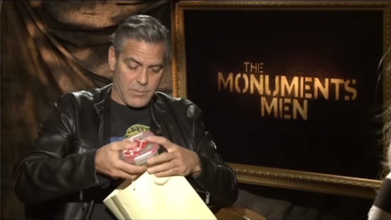 George Clooney Food Étel Interview Interjú