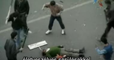 Hungary pogrom Romania