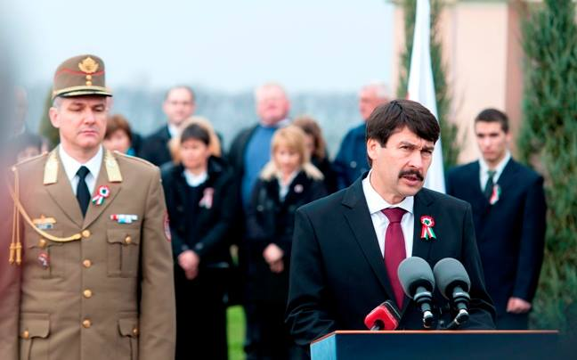 Hungary president Áder