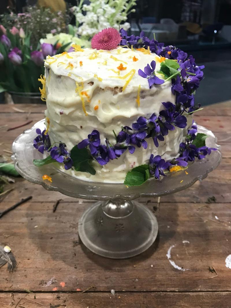 Ibolya Viola Cake Torta 2