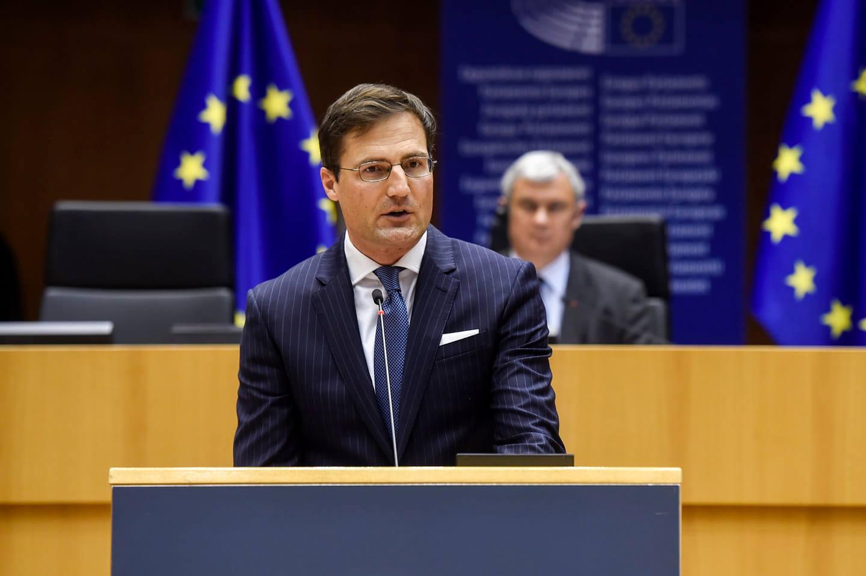 Márton Gyöngyösi MEP Politician Politikus Képviselő Jobbik