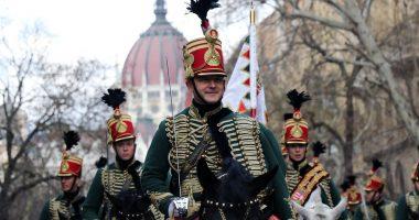 March 15 Hussar Március Huszár Felvonulás