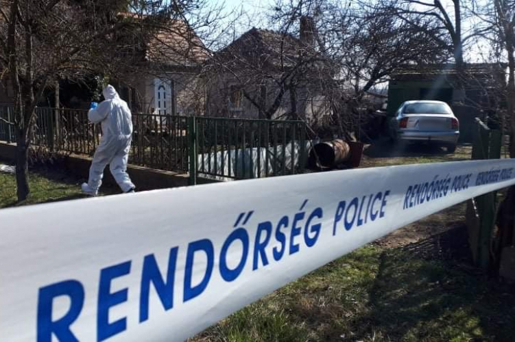 Rendőrség Police Helyszín Crime Scene