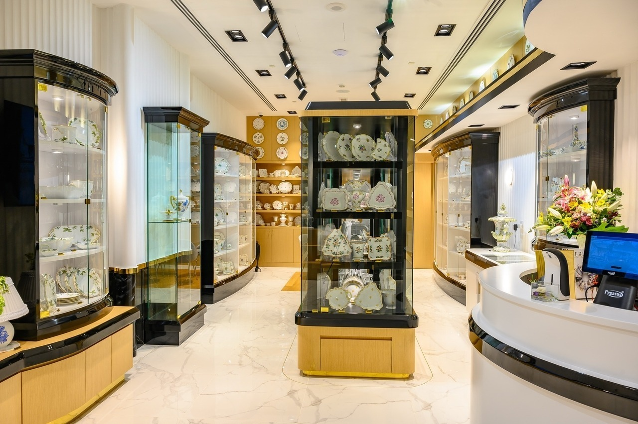 United Arab Emirates Herend Store Interior