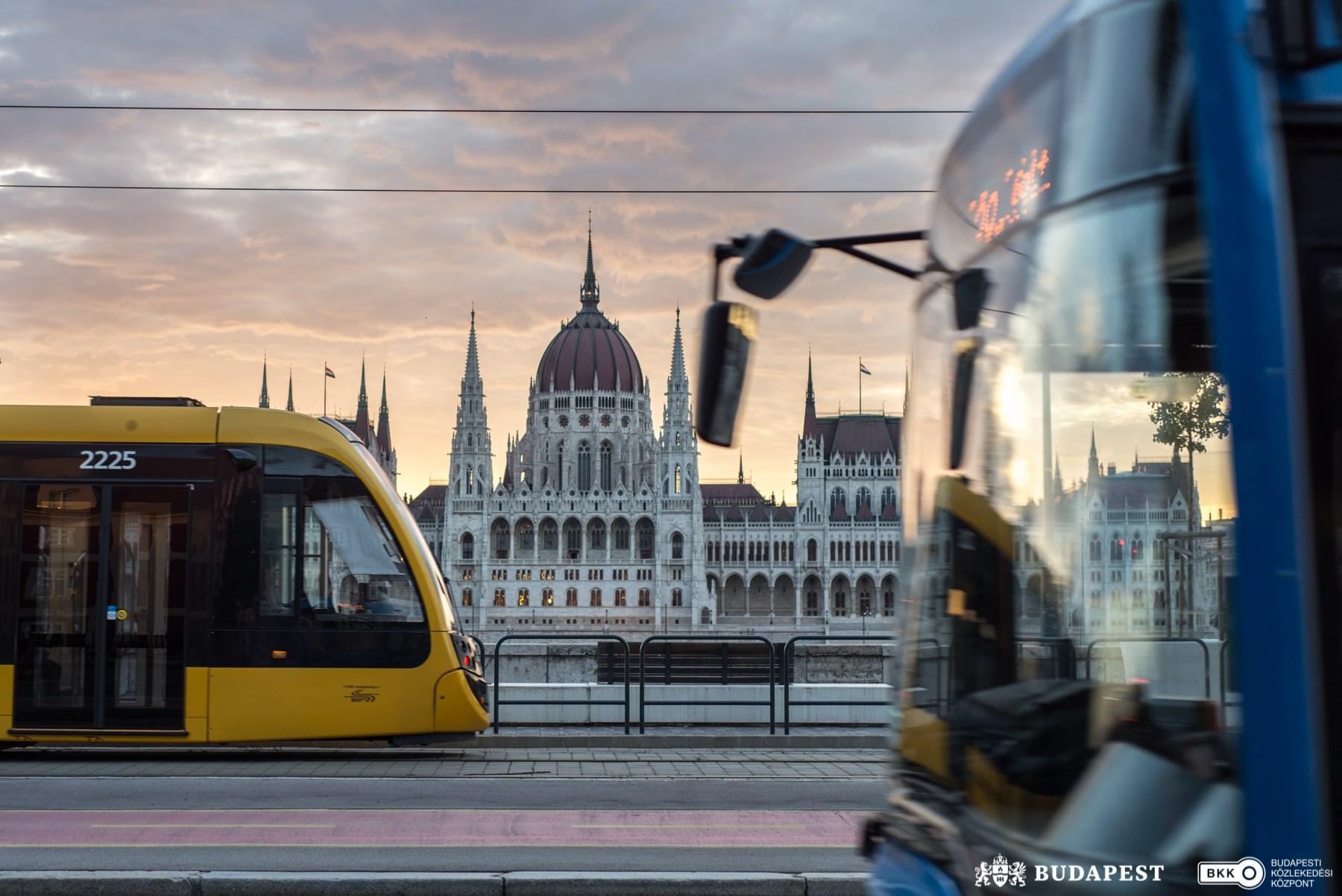bkk tram budapest